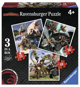 Slagalica Dragons 3 u kutiji