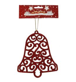 Zvono 15 cm crveno