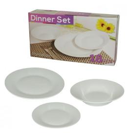 Set tanjira, 18-delni, okrugli