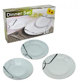 Set tanjira 18-delni (okrugli)