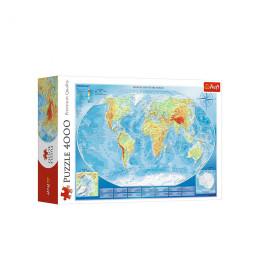 Slagalica 4000 Karta sveta
