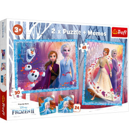 Slagalica x2 + Memos Frozen II