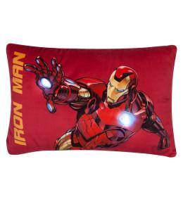 Avengers LED jastuk ,40x26 cm