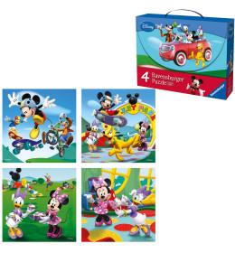 Slagalica kofer Mickey