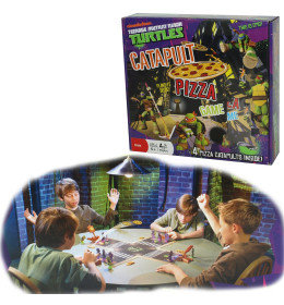 TMNT Catapult Pizza  Game