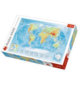 Slagalica 1000 Map of the worl