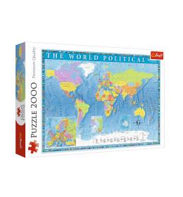Slagalica 2000 Karta sveta