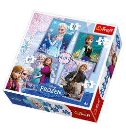 Slagalica 4 u 1, Frozen