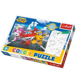 Oboji me puzzle Super Wings