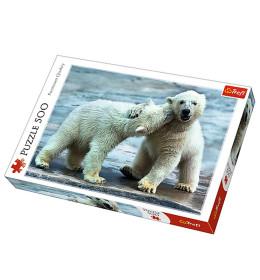 Slagalica 500 Polar bears