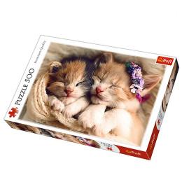 Slagalica 500 Sleeping kittens