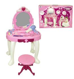 Kozmetički sto za svetlom i mu