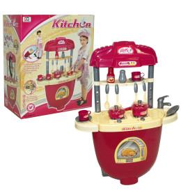Kuhinjski set, svjetlo/muzika