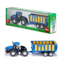 SIKU Traktor sa silaža prikoli