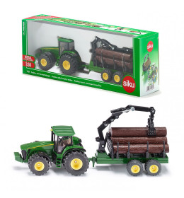 SIKU Traktor s prikolicom za š