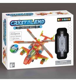 Crystal kocke Helikopter
