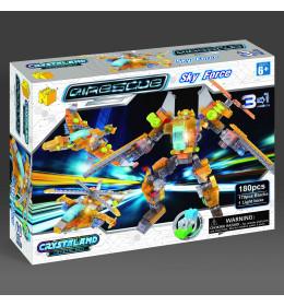 Crystal kocke Robot 3 u 1