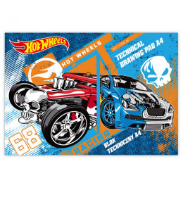 Blok za crtanje Hot Wheels