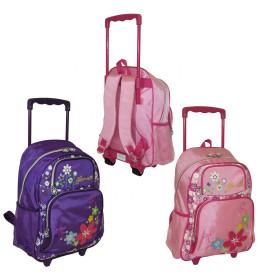 Školska torba na kotače, 2 vrs
