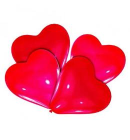 Baloni srca 4 kom
