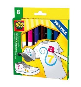 Textile markers 8 colours