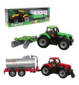 Traktor s prikolicom Die Cast