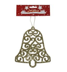 Zvono 15 cm zlatno