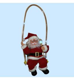 Deda Mraz na bat.LED 30cm