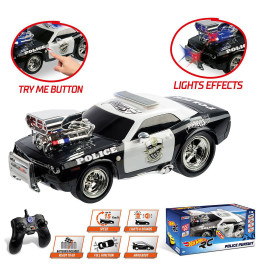 Hot Wheels R/C Police Pursuit