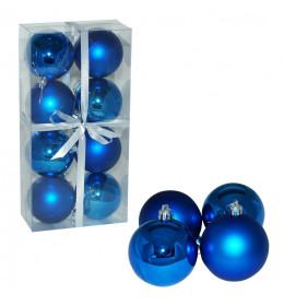 Kuglice 7 cm 8 kom plave