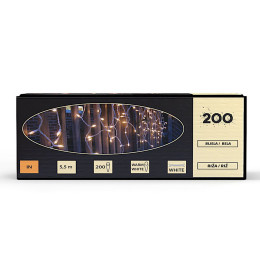 "Lampice ""ICICLE"" 200 kom, 4m"
