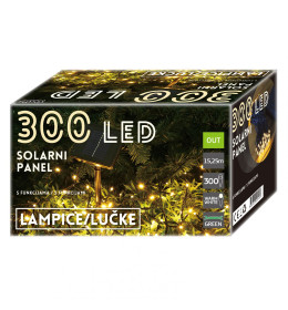 LED Solarni panel 300L, 8 funk