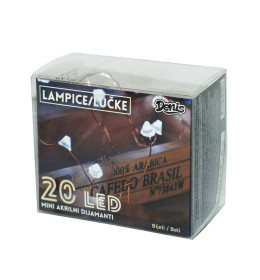LED mini akril dijamanti, 20L