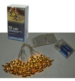 LED svetleći borići 10L, 6cm