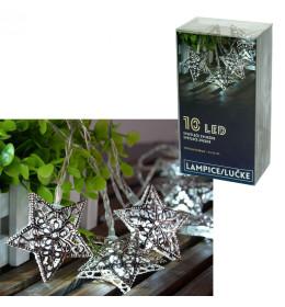 LED svetleće zvezde 10L, 6x6cm