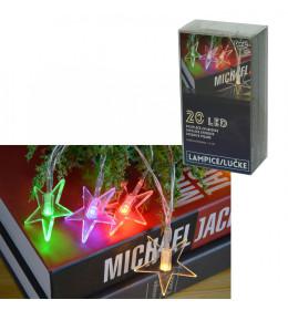 LED svetleće zvezdice 20L, 5x5