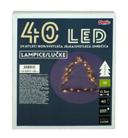 LED Bor 32x24 cm , 40L bat