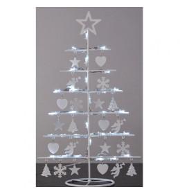 LED Bož. drvce, 30L bele, 48,5