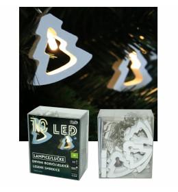 LED drveni borići 5,8x5,2 cm,