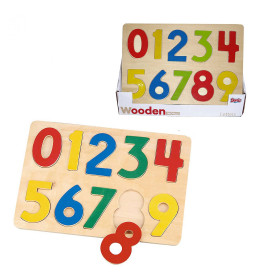 Drvena slagalica-brojevi