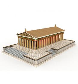 3D drvene puzzle građevine,Par