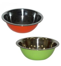 Inox činija u boji, 24 cm