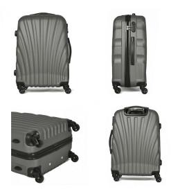 Kofer  24' ABS sivi